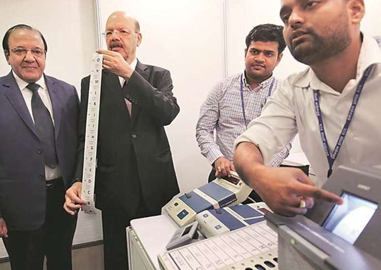 EVM row: Never promised 'no-holds-barred hackathon', EC- India Tv