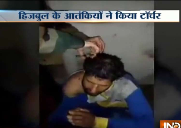 Video shows suspected Hizbul militants torturing, shaving