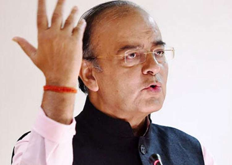 File pic of Union Finance Minister Arun Jaitley - India Tv