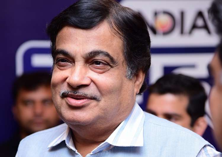 Union Minister Nitin Gadkari at India TV 'Samvaad' conclave
