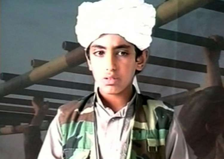 Osama's son Hamza 'bent on avenging his father's death':- India Tv
