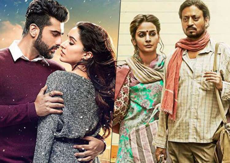 Half Girlfriend Vs Hindi Medium Day 1: Arjun, Shraddha- India Tv