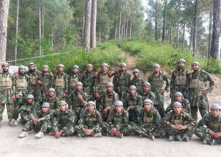 Hizbul releases photo of 'latest batch' of