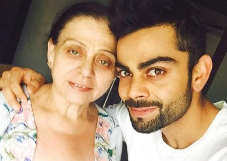 mothers day virat kohli- India Tv