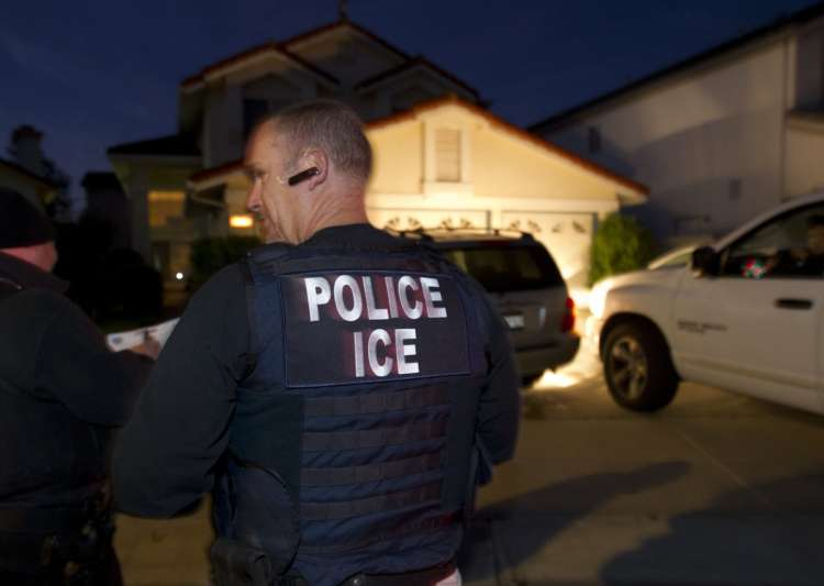 USA  immigration arrests up 40pc under Trump
