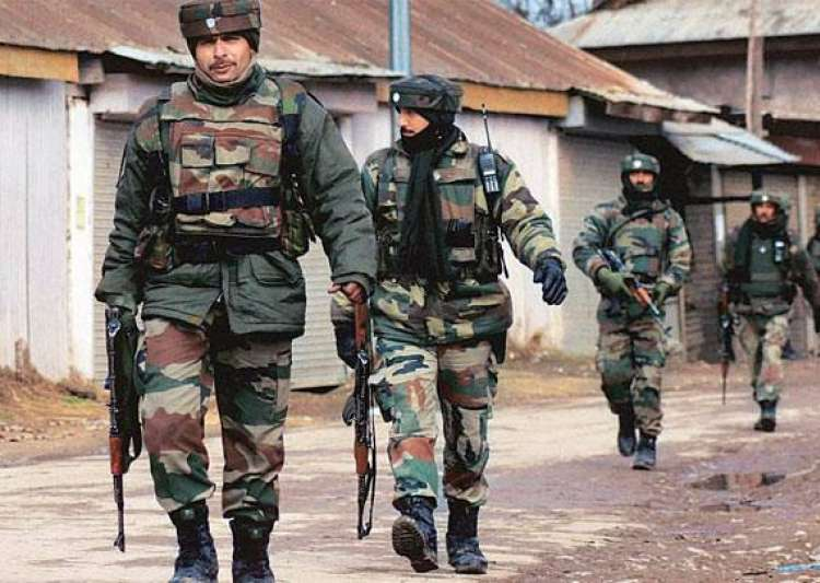 Indian Army in Jammu and Kashmir- India Tv