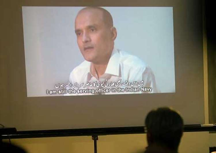 File pic of Indian national Kulbhushan Jadhav