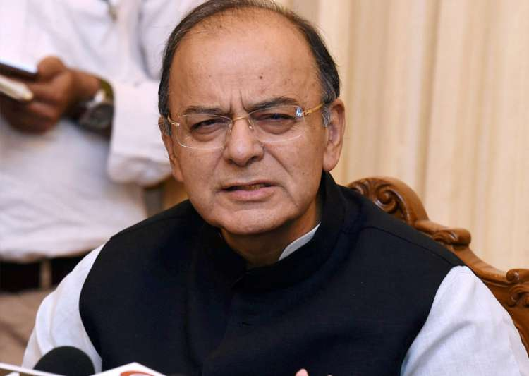 Arun Jaitley addresses media in New Delhi - India Tv