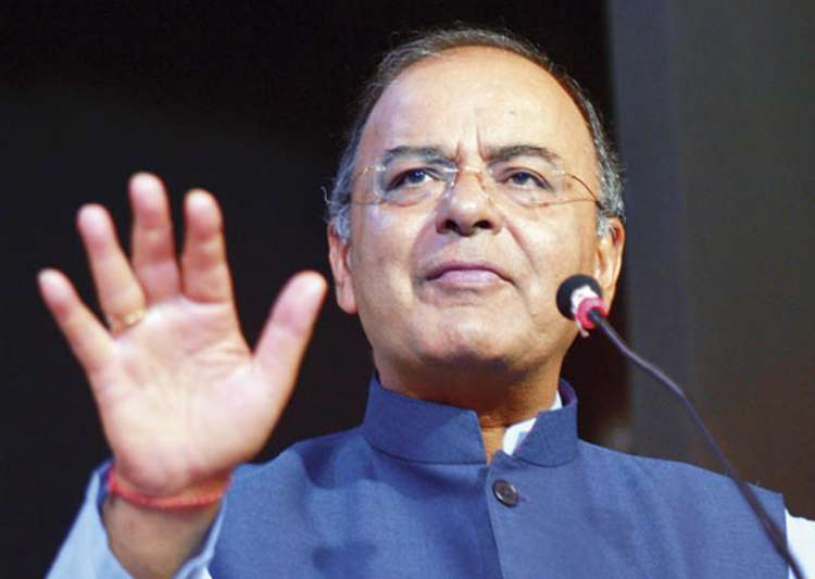 File pic of Fm Arun Jaitley - India Tv