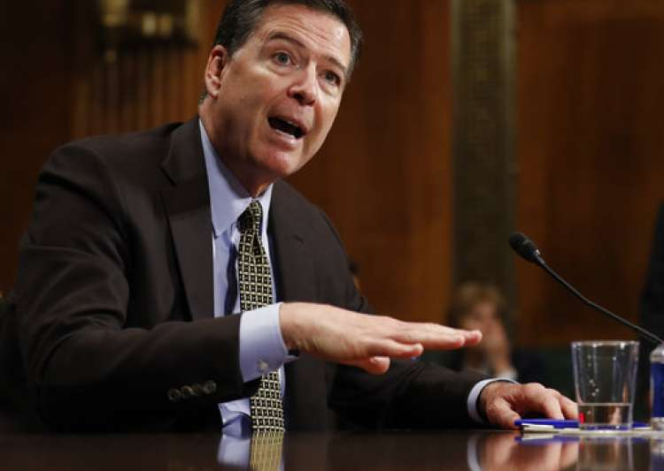 FBI's Comey defends Clinton email probe announcement, but feels 'nauseous'