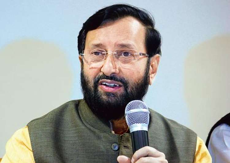 File pic of HRD Minister Prakash Javadekar - India Tv