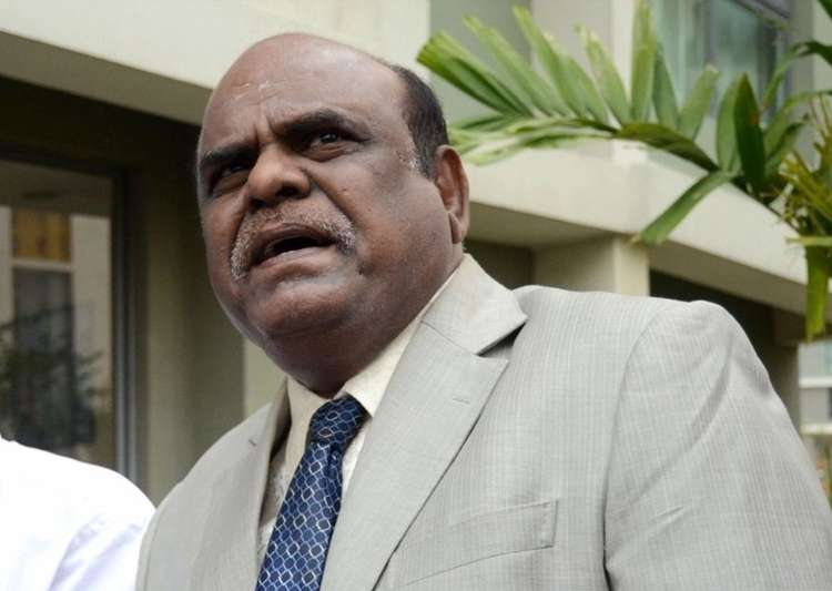 Justice Karnan becomes first HC judge to retire while still- India Tv