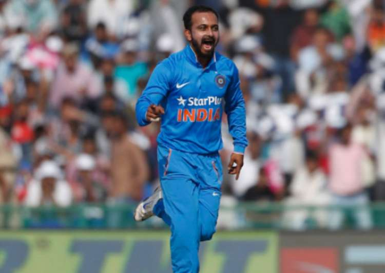File pic of Kedar Jadhav- India Tv