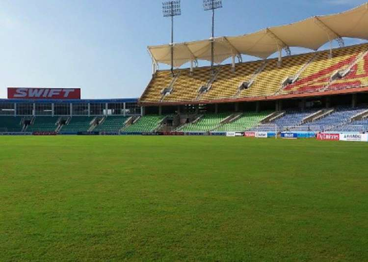 BCCI inspects Karayavattom Green Field stadium