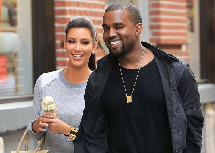 Kim Kardashian celebrates marriage anniversary with Kanye- India Tv