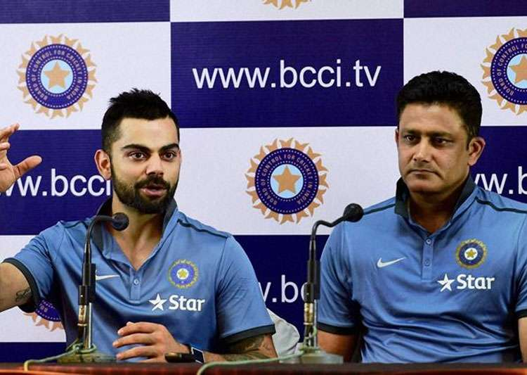 BCCI officials likely to interact with Kumble, Kohli- India Tv