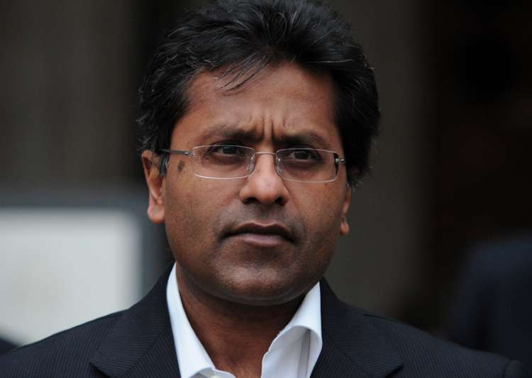 File pic of Lalit Modi- India Tv