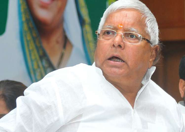 File pic of RJD supremo Lalu Prasad Yadav - India Tv