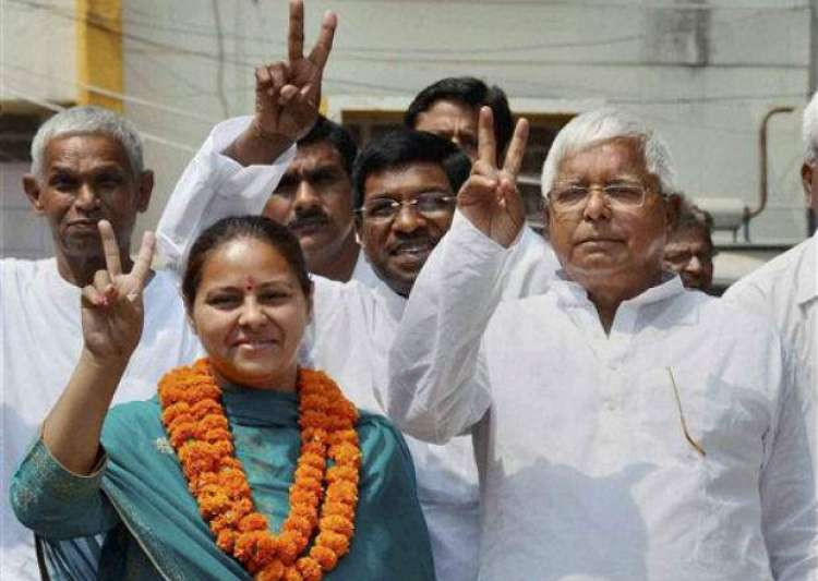 IT dept summons Lalu Yadav's daughter Misa Bharti, her husband
