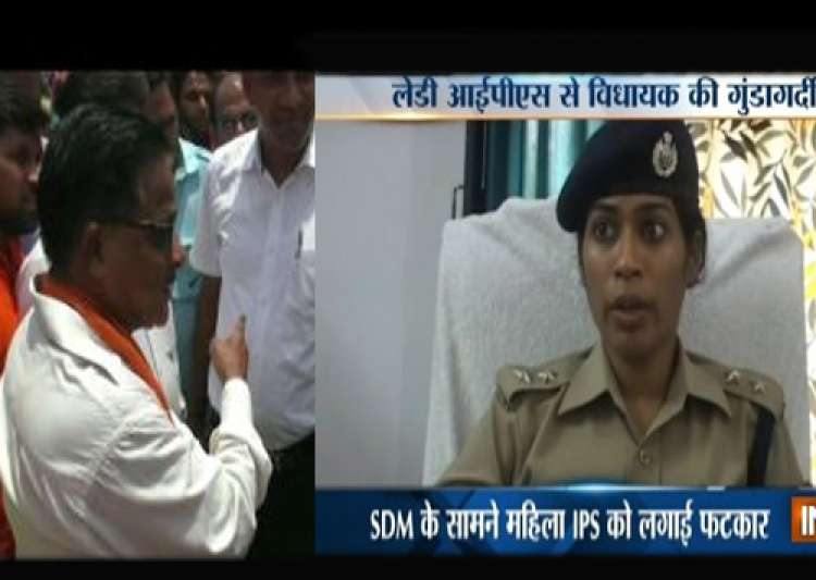 BJP MLA now, accuses police of allowing illegal Liquor- India Tv