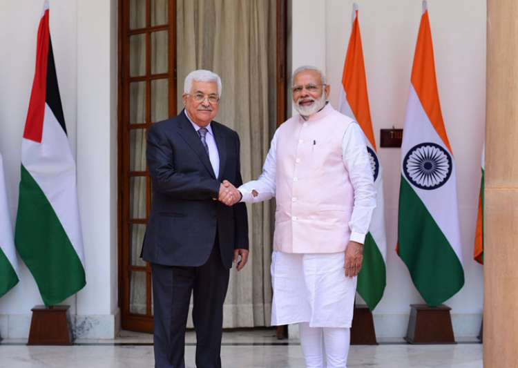 India reaffirms support for Palestinian cause in Modi-Abbas- India Tv