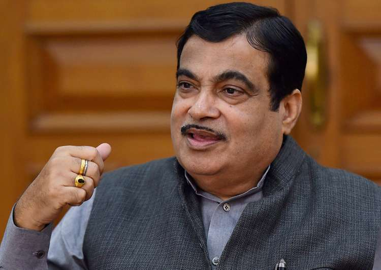 File pic of Union minister Nitin Gadkari