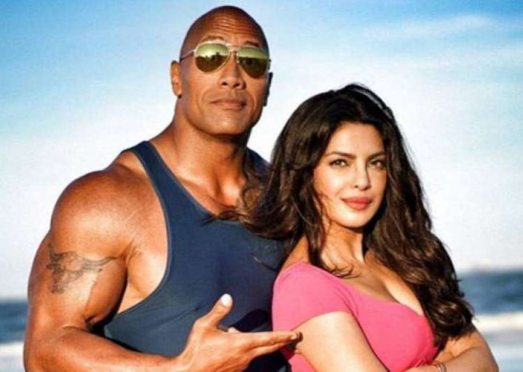 Dwayne Johnson, Priyanka chopra- India Tv