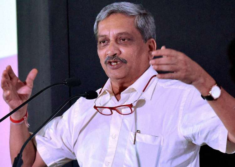 File pic of Goa Chief Minister Manohar Parrikar- India Tv