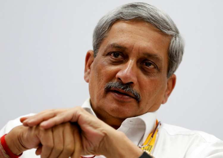 File pic of Goa CM Manohar Parrikar