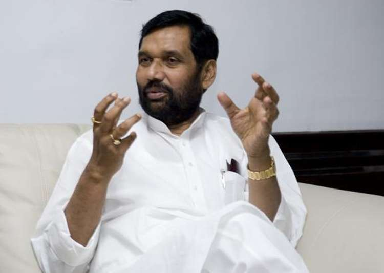File pic of Union minister Ram Vilas Paswan - India Tv