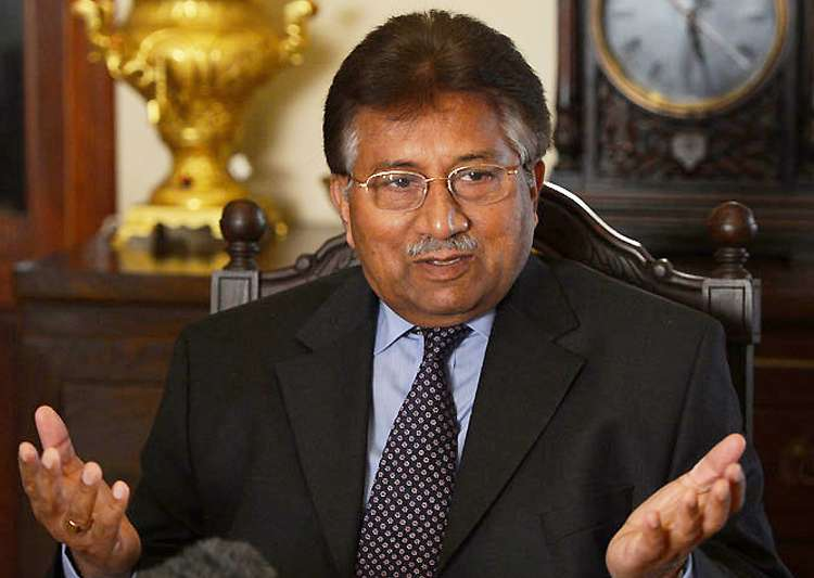 File pic of Pervez Musharraf