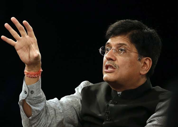 File pic of Union Power Minister Piyush Goyal- India Tv