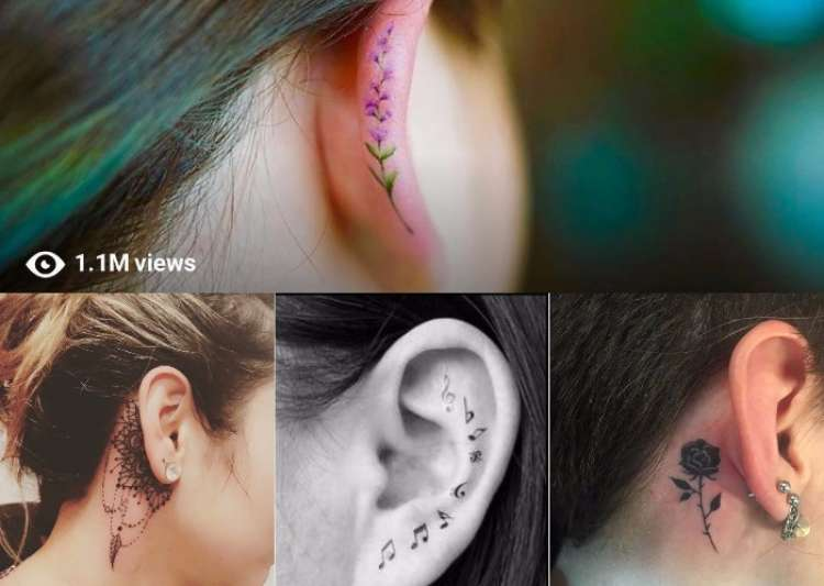 ear helix tattoos- India Tv