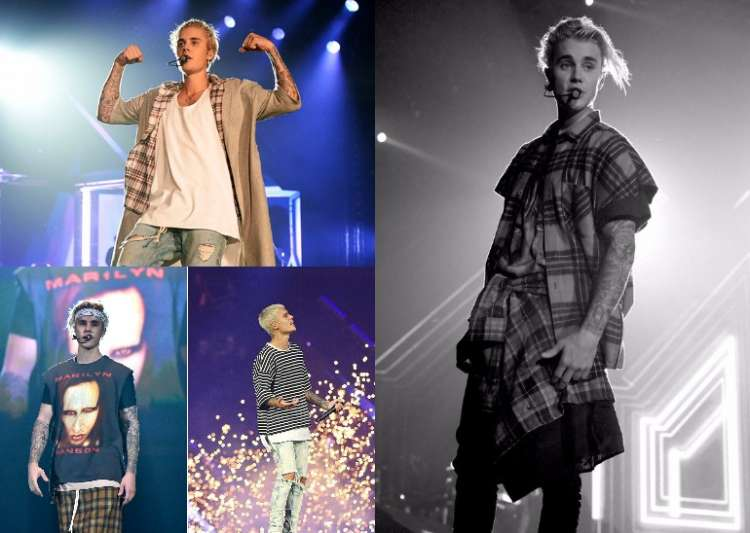 Justin Bieber's laid-back concert fashion is so cool!