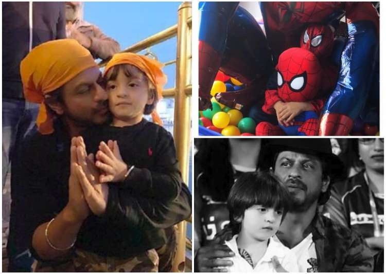 SRK grateful for fans' love for son AbRam