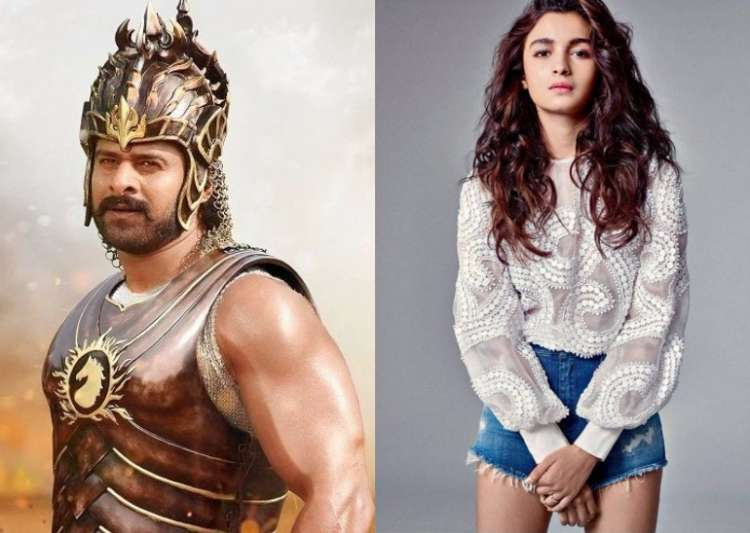 Prabhas is everyone's favourite! Now Alia Bhatt wants to work with him