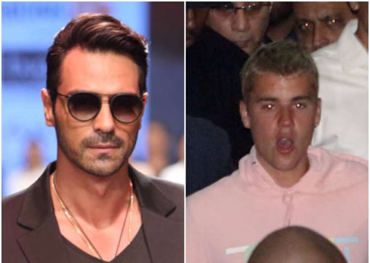 Arjun Rampal misbehaved with photographer at Justin Bieber- India Tv