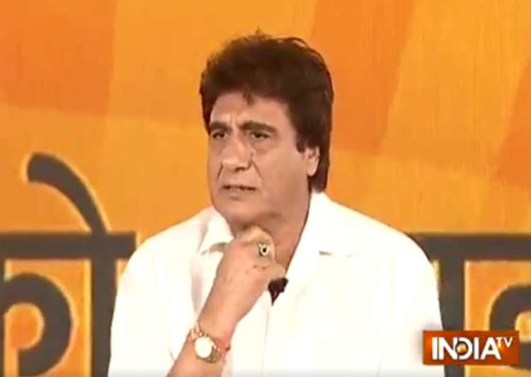 Modi a fantasy hero, says Congress leader Raj Babbar- India Tv