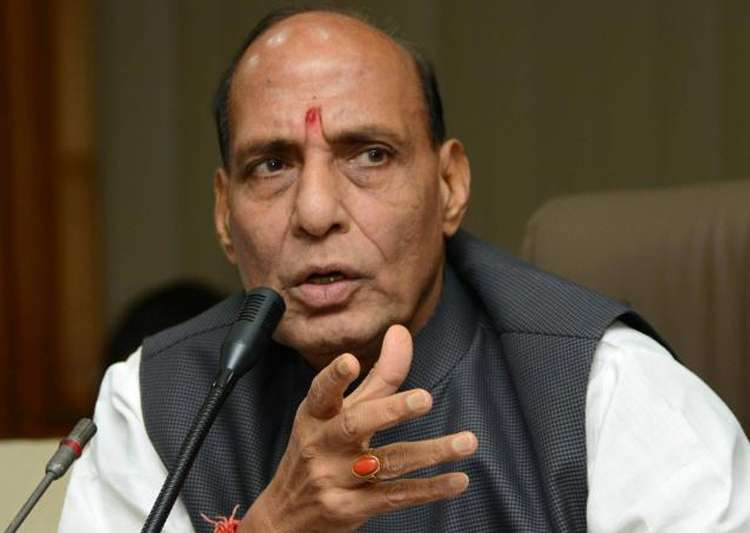 Rajnath assures to find permanent solution to Kashmir