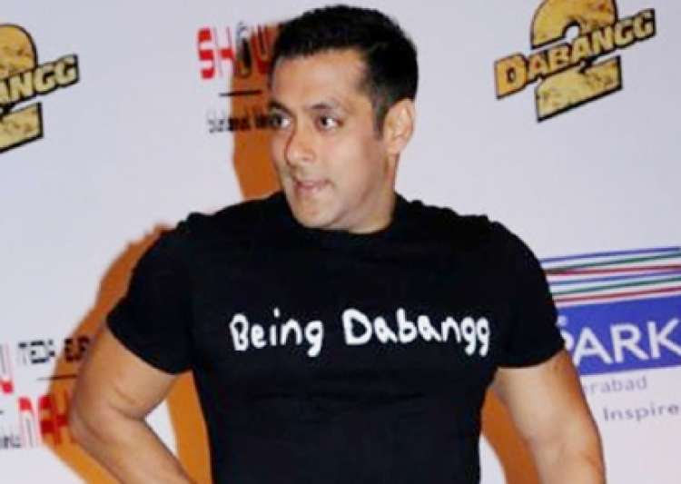 OMG! Is this Salman Khan tearing and eating his own jeans?- India Tv