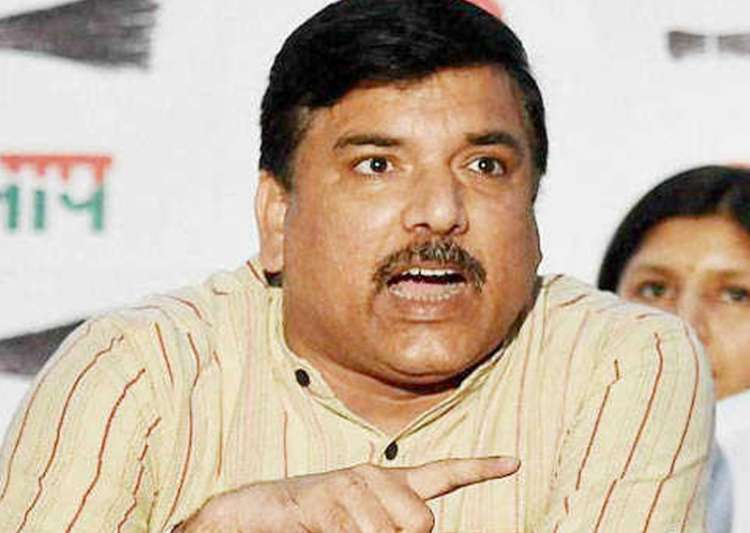 File pic of Sanjay Singh- India Tv
