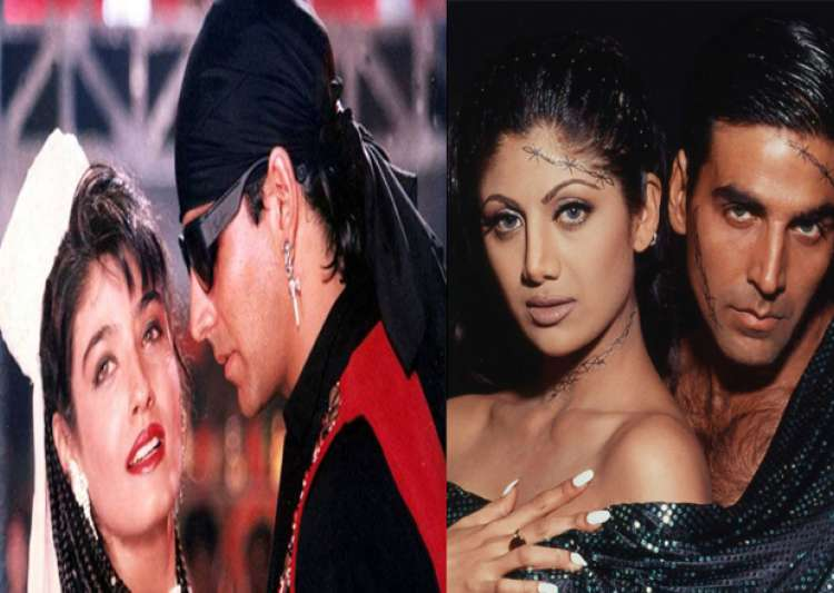 Akshay Kumar, Shilpa Shetty, Raveena Tandon- India Tv