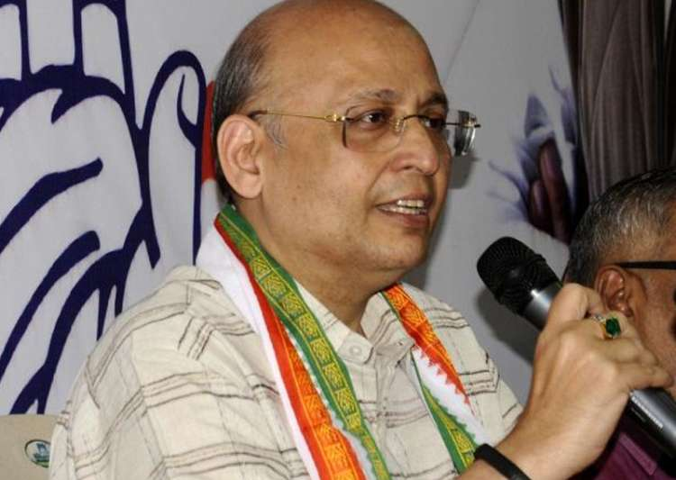 File pic of Congress spokesperson Abhishek Singhvi