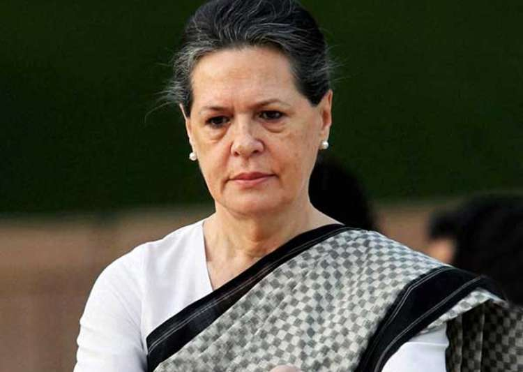 File pic of Congress president Sonia Gandhi - India Tv