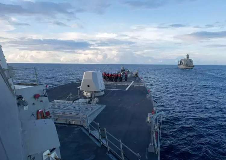 US warship in South China Sea: China urges America to