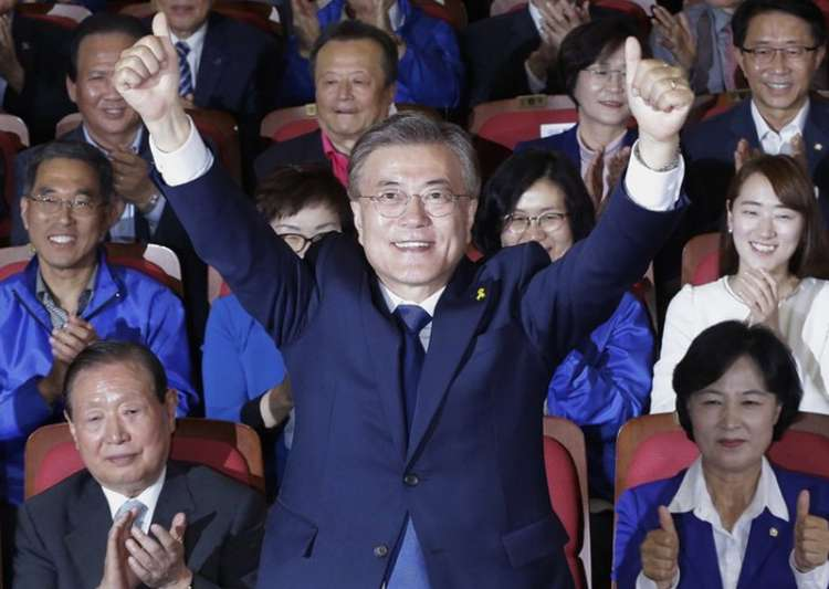 File pic of Moon Jae-in of the Democratic Party- India Tv