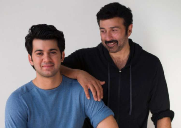 SRK welcomes Sunny Deol's son Karan to Bollywood