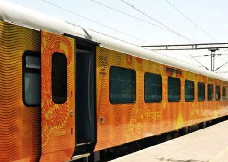 Semi-Luxury Tejas Express returns to Mumbai with littered- India Tv