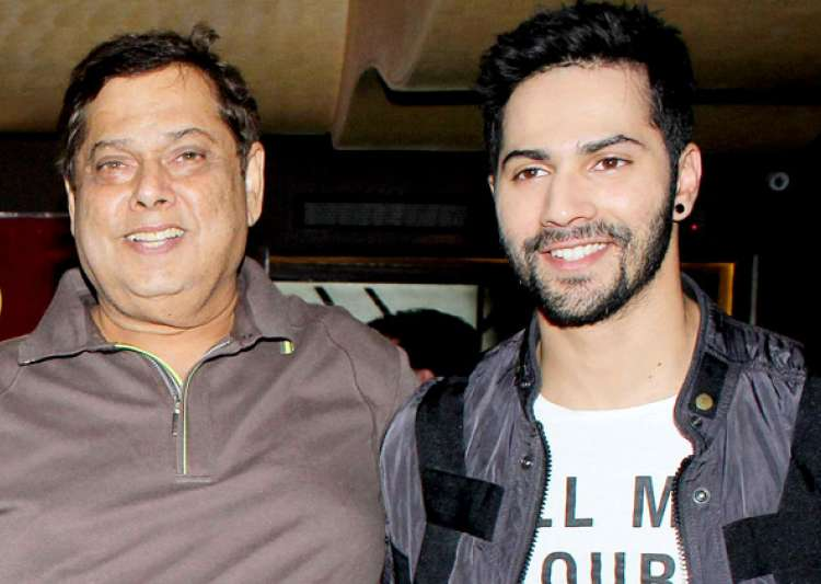 Varun Dhawan gets hit with a bottle by dad David Dhawan for- India Tv