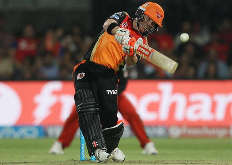 Sunrisers Hyderabad skipper David Warner- India Tv